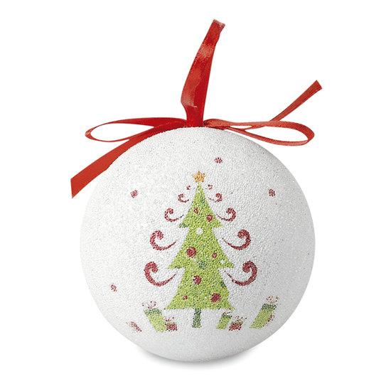 Kerstbal in bijpassend doosje sample