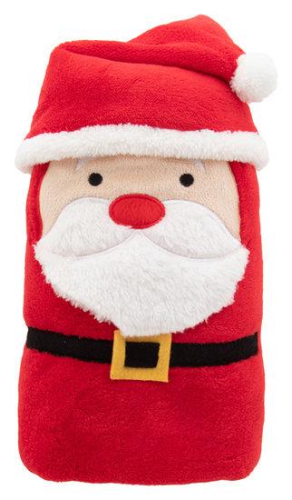 kerst deken, kerstman Hugger