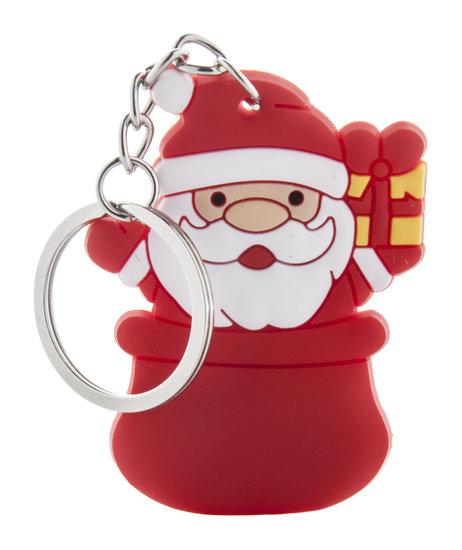 Kerstmis sleutelhanger, sneeuwpop Tridux
