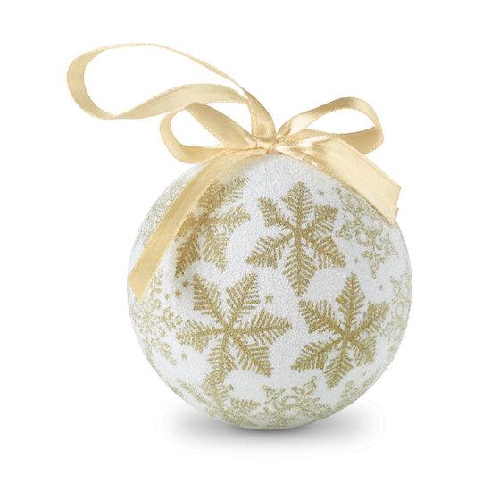 Kerstbal met parel sample